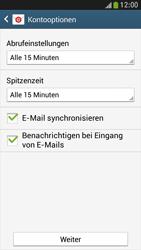 Samsung Galaxy S 4 Mini LTE - E-Mail - Manuelle Konfiguration - Schritt 15