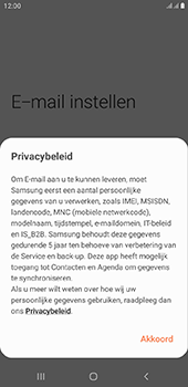 Samsung Galaxy J6 Plus - E-mail - e-mail instellen (outlook) - Stap 9