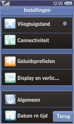 Samsung S8500 Wave - Buitenland - Bellen, sms en internet - Stap 4