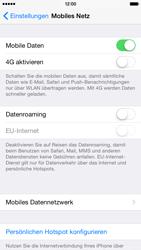 Apple iPhone 6 iOS 8 - Netzwerk - Netzwerkeinstellungen ändern - Schritt 5