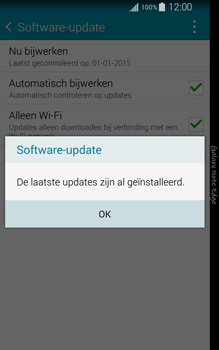 Samsung Galaxy Note Edge - software - update installeren zonder pc - stap 9