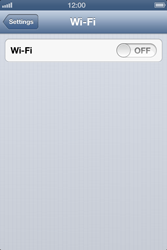 Apple iPhone 4 - WiFi - WiFi configuration - Step 4