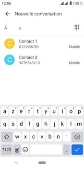 Crosscall Core M4 - Contact, Appels, SMS/MMS - Envoyer un SMS - Étape 7