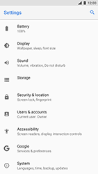 Nokia 8 - Mobile phone - Resetting to factory settings - Step 4