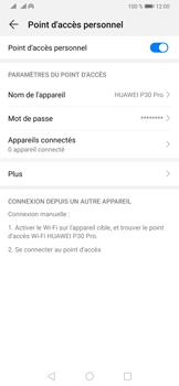Huawei P30 Pro - Internet et connexion - Partager votre connexion en Wi-Fi - Étape 10
