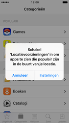 Apple iPhone 5 iOS 10 - apps - app store gebruiken - stap 4