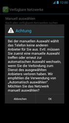 Alcatel One Touch Idol - Netzwerk - Manuelle Netzwerkwahl - Schritt 10