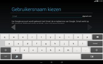 Sony Xperia Tablet Z2 4G (SGP521) - Applicaties - Account aanmaken - Stap 8