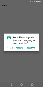 LG V30 (LG-H930) - E-mail - 032c. Email wizard - Outlook - Stap 14