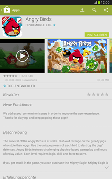 Samsung Galaxy Note 8-0 - Apps - Herunterladen - 16 / 20