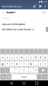 LG G4 - E-Mail - E-Mail versenden - 10 / 20