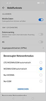Huawei Nova 5T - Netzwerk - So aktivieren Sie eine 4G-Verbindung - Schritt 6