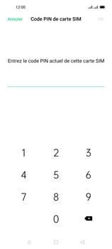 Oppo Reno 4 Pro - Sécuriser votre mobile - Personnaliser le code PIN de votre carte SIM - Étape 8