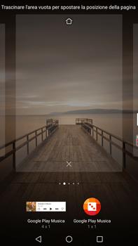 Huawei Mate 9 - Operazioni iniziali - Installazione di widget e applicazioni nella schermata iniziale - Fase 6