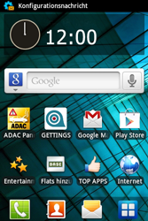 Samsung Galaxy Ace - Internet - Automatische Konfiguration - 5 / 11