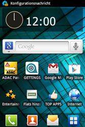 Samsung S5830 Galaxy Ace - Internet - Automatische Konfiguration - Schritt 5
