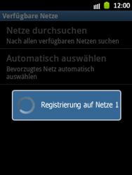 Samsung Galaxy Pocket - Netzwerk - Manuelle Netzwerkwahl - Schritt 10