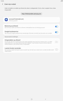 Samsung galaxy-tab-a-10-5-sm-t595-android-pie - Beveiliging en ouderlijk toezicht - Zoek mijn mobiel inschakelen - Stap 8