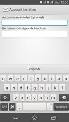 Sony E2003 Xperia E4G - e-mail - handmatig instellen - stap 19