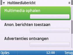 Nokia E5-00 - MMS - probleem met ontvangen - Stap 8