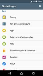Sony Xperia X Performance - Anrufe - Rufumleitungen setzen und löschen - 4 / 9