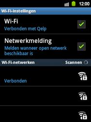 Samsung S5360 Galaxy Y - WiFi - Handmatig instellen - Stap 10