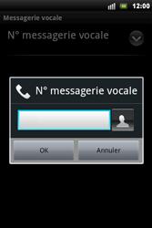 Sony Xperia Mini Pro - Messagerie vocale - Configuration manuelle - Étape 7