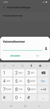 Samsung Galaxy A50 - voicemail - handmatig instellen - stap 10