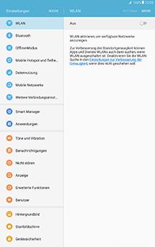 Samsung Galaxy Tab A 10-1 - WLAN - Manuelle Konfiguration - Schritt 4