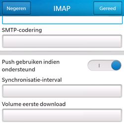 BlackBerry Q5 - E-mail - Handmatig instellen - Stap 15