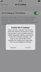 Apple iPhone 8 - iOS 13 - WiFi - Enable WiFi Calling - Step 7