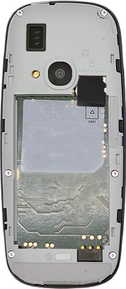 Nokia 3310 - SIM-Karte - Einlegen - 1 / 1