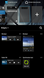 HTC One Max - Prise en main - Installation de widgets et d