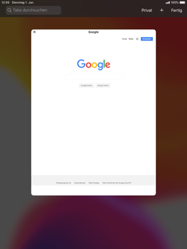 Apple iPad Mini 4 - ipados 13 - Internet und Datenroaming - Verwenden des Internets - Schritt 15