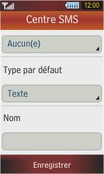 Samsung S5230 Star - SMS - Configuration manuelle - Étape 9