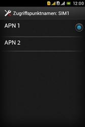 Sony Xperia Tipo Dual - MMS - Manuelle Konfiguration - Schritt 19