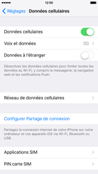 Apple iPhone 6s - Internet et connexion - Activer la 4G - Étape 4