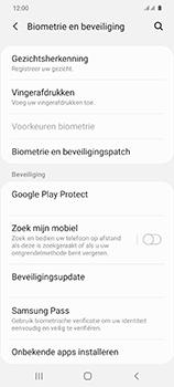 Samsung Galaxy S20 5G Dual-SIM eSIM SM-G981B - Beveiliging en ouderlijk toezicht - Zoek mijn mobiel inschakelen - Stap 5