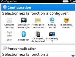 BlackBerry 9320 - Premiers pas - Créer un compte - Étape 10
