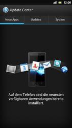 Sony Xperia S - Software - Installieren von Software-Updates - Schritt 7