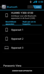 Huawei Ascend Y300 - bluetooth - headset, carkit verbinding - stap 6