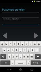Sony Xperia Z1 Compact - Apps - Konto anlegen und einrichten - 1 / 1