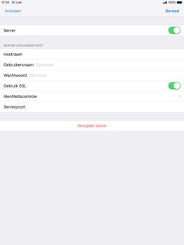 Apple ipad-mini-5-7-9-inch-2019-model-a2124 - E-mail - Handmatig instellen - Stap 19