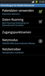 Samsung Galaxy S - Internet - Apn-Einstellungen - 6 / 22