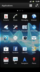 Sony Xperia S - WiFi - WiFi configuration - Step 3