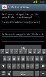 Samsung Galaxy Trend Lite - E-Mail - Manuelle Konfiguration - Schritt 19