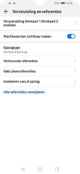Huawei Y6 (2019) - Beveiliging - pas de pincode voor je simkaart aan - Stap 6