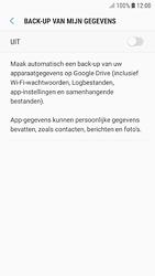 Samsung galaxy-s7-android-oreo - Instellingen aanpassen - Back-up maken in je account - Stap 7