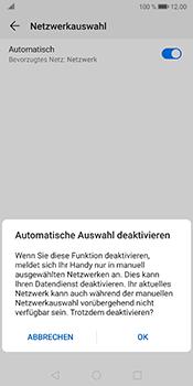 Huawei Mate 10 Pro - Android Pie - Netzwerk - Manuelle Netzwerkwahl - Schritt 7