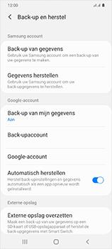 Samsung Galaxy S20 Ultra - toestel resetten - back-up maken met jouw account - stap 11